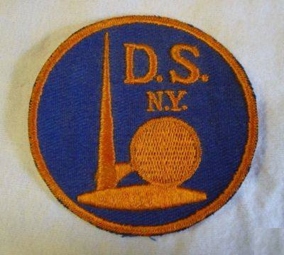 DSNY patch from the World's Fair 1939.